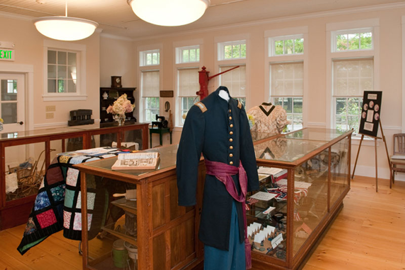 Stowe Historical Society Interior Finished