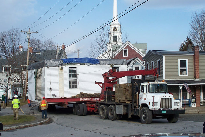 Moving Stowe Historical Society